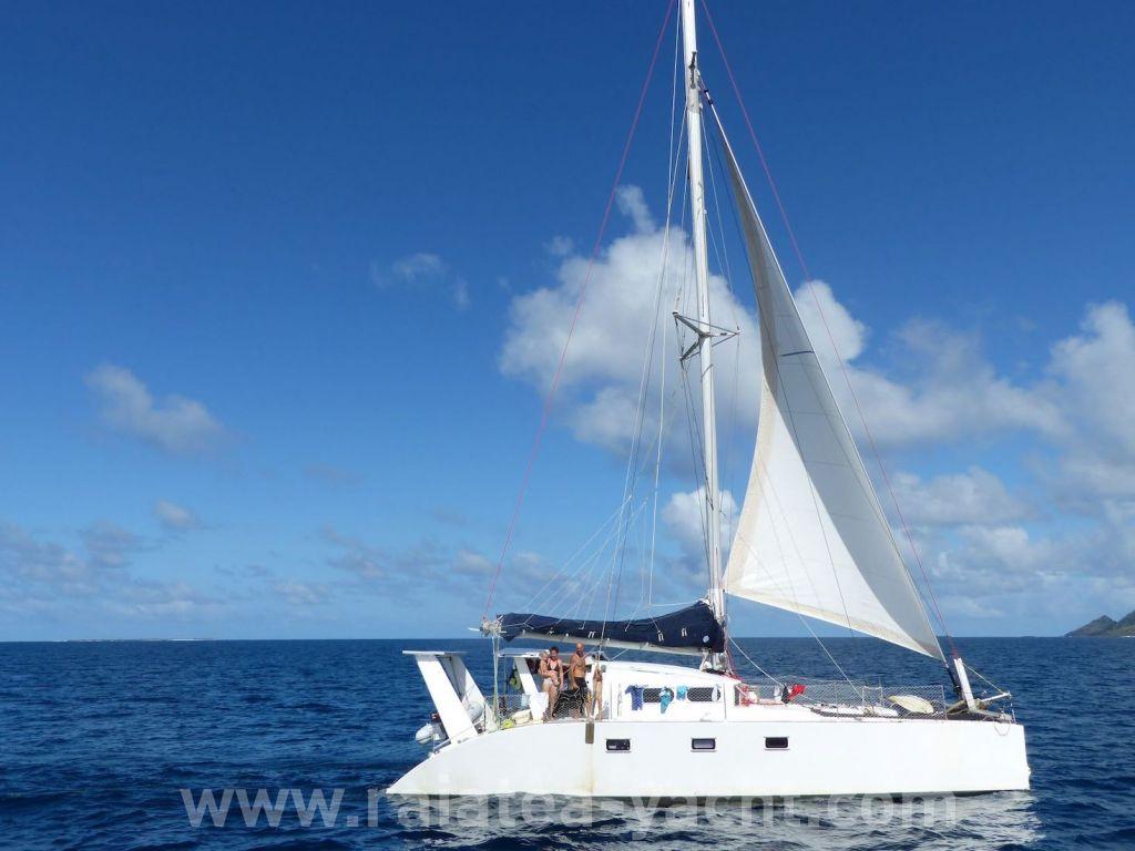 c0d43669 Catamaran One-off 45' for sale in Tahiti | Raiatea-yacht.com - Broker