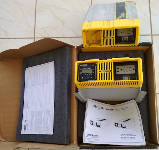 Vend/Sell INVERTER WANTREX PROSINE 1000/1000